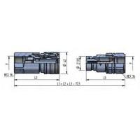 PLT4 DN22 - BG4A - ISO 16