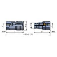 PLT4 DN25 - BG4 - ISO 19