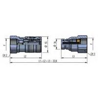 PLT4 DN30 - BG5 - ISO 25